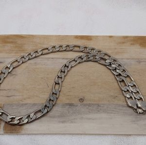 """24"""" 925 Sterling Silver Chain Necklace Unisex"""